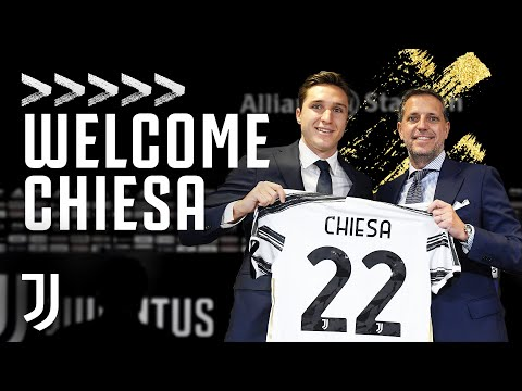 WELCOME CHIESA | Federico Chiesa is Presented as a Juventus Player