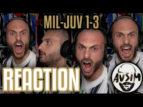 Milan-Juventus 1-3 live reaction ||| Avsim Live
