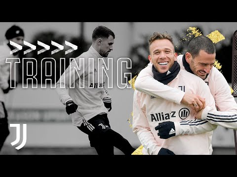 ? Friday Training for the Supercup Champions! | Juventus Training