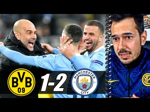 GUARDIOLA IN SEMIFINALE: SARÀ PSG-CITY | Borussia Dortmund-Manchester City 1-2